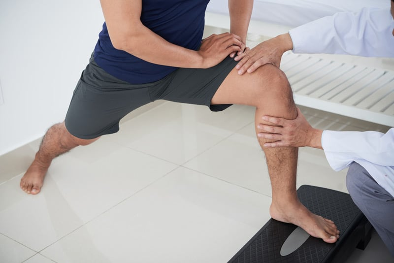 Post-Operation Therapy After Knee Replacement Surgery